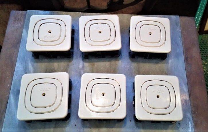 6 Scatole di derivazione da incasso per prese TELEFONICHE - Immagine1