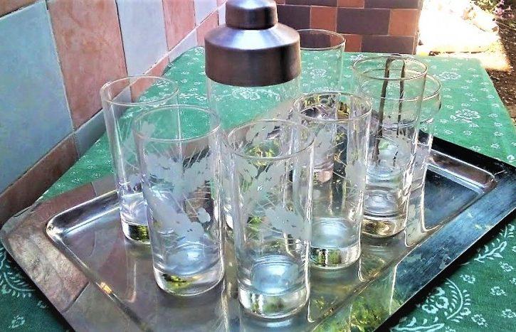 Set Bicchieri Di Vetro IN CRISTALLO - Immagine2