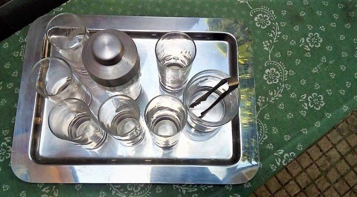 Set Bicchieri Di Vetro IN CRISTALLO - Immagine3