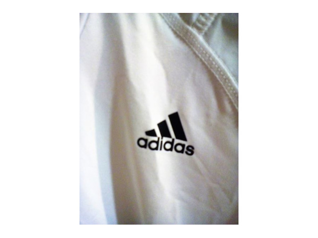T SHIRT Originale Adidas Taglia L BIANCA - Immagine3