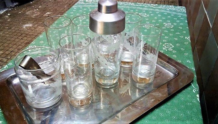 Set Bicchieri Di Vetro IN CRISTALLO - Immagine4