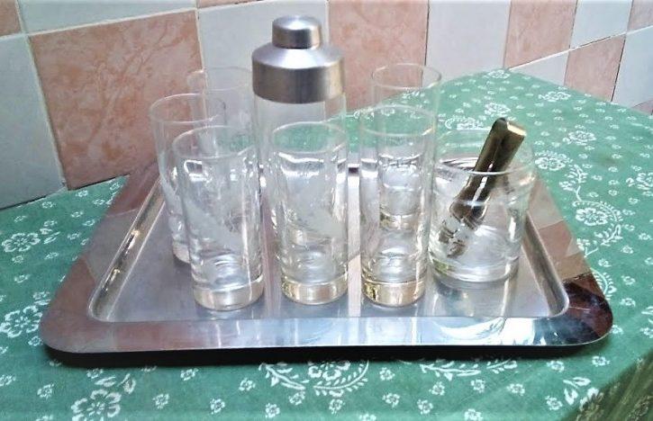 Set Bicchieri Di Vetro IN CRISTALLO - Immagine1