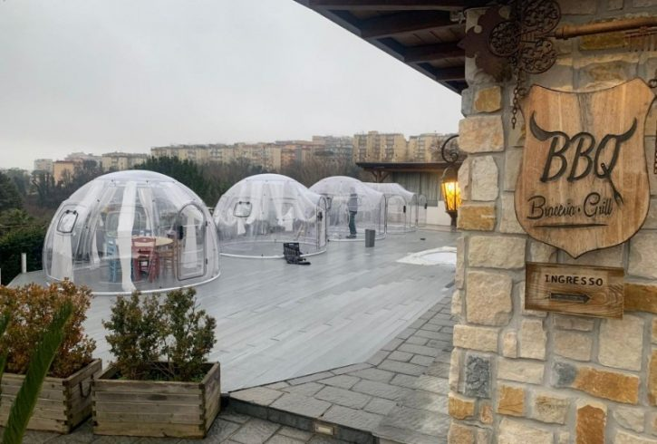 Cupola policarbonato Jemming Resort 5