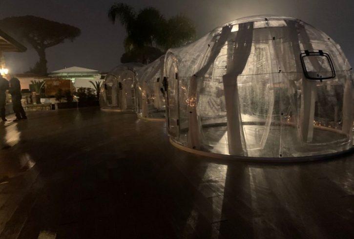 Cupola policarbonato Jemming Resort 1