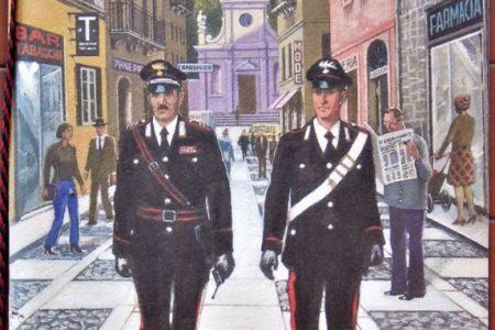 calendario carabinieri 2005